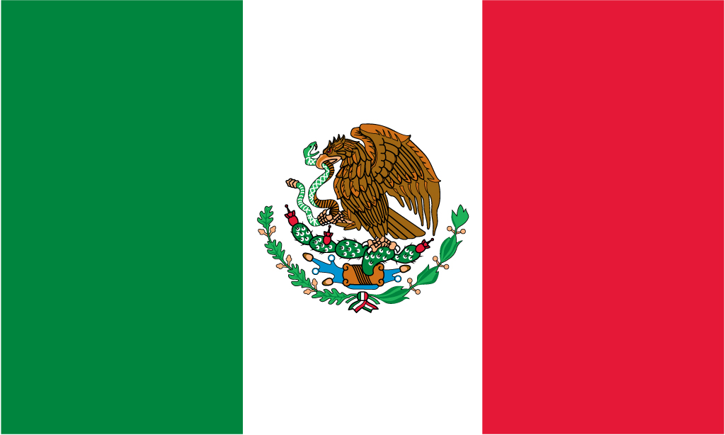 official flag of mexico