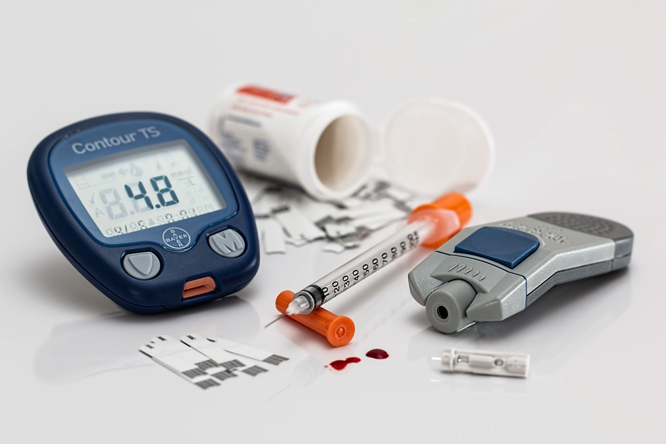 the required diabetes equipment