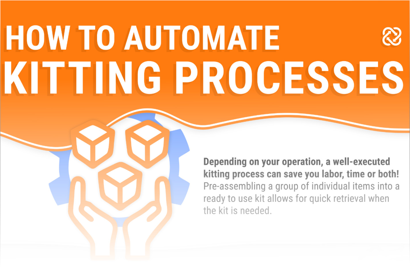 Preview of the How to Automate Kitting Process Infographic