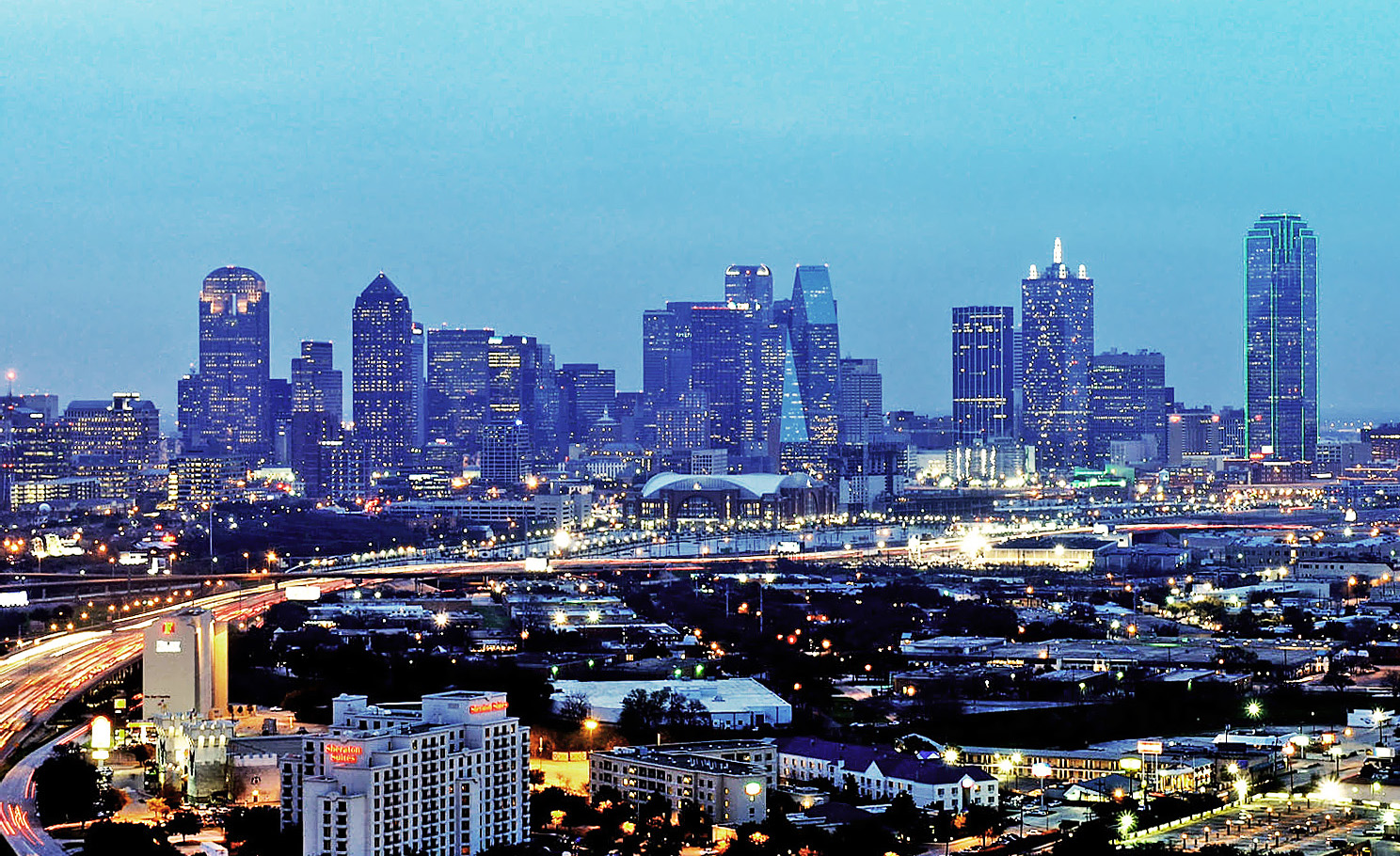 Dallas Skyline View