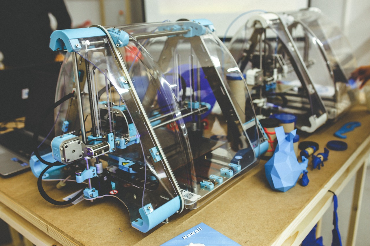 3d printing machines in supply chain
