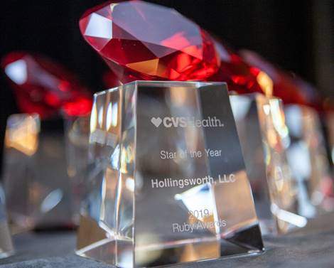 hollingsworth cvs health ruby award 2019